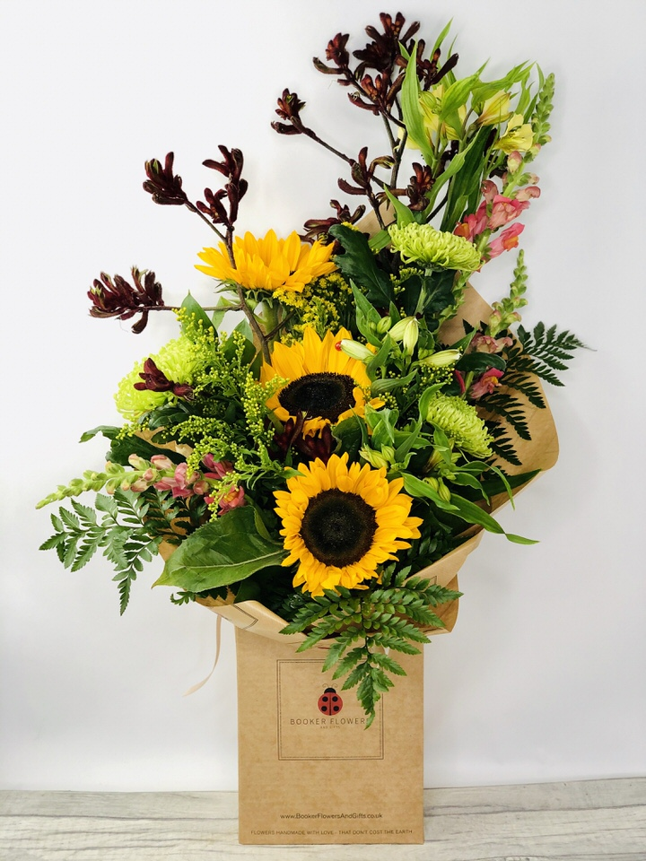 Autumn Days Handtied Bouquet: Booker Flowers and Gifts