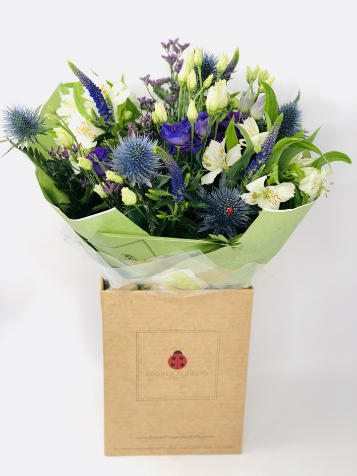 Beautiful Blue Tanzanite December Birthday Flowers: Booker Flowers and Gifts