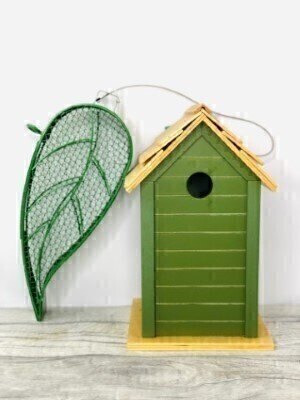 Bird Feeder and Birdhouse Gift Set: Booker Flowers and Gifts