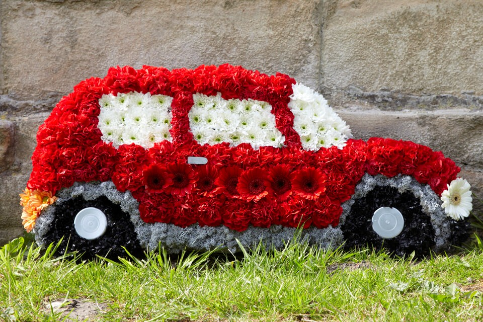 Classic Car Funeral Tribute: Booker Flowers and Gifts