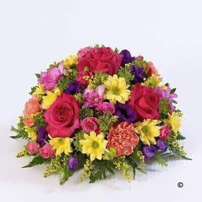 Classic Posy - Vibrant: Booker Flowers and Gifts