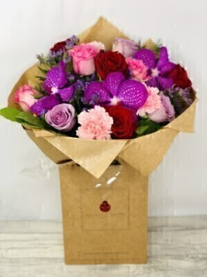 Dragon Heart Luxury Bouquet: Booker Flowers and Gifts