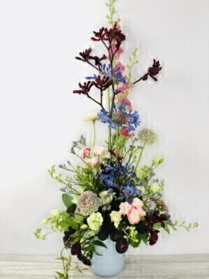 Fleurs Garden Arrangement: Booker Flowers and Gifts