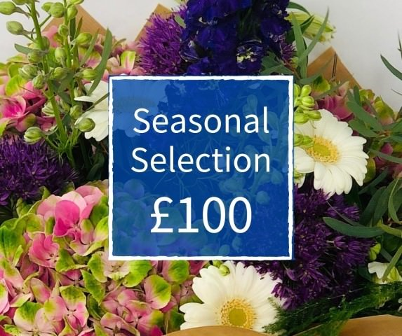 Florist Choice 100 - Seasonal Handtied Bouquet: Booker Flowers and Gifts