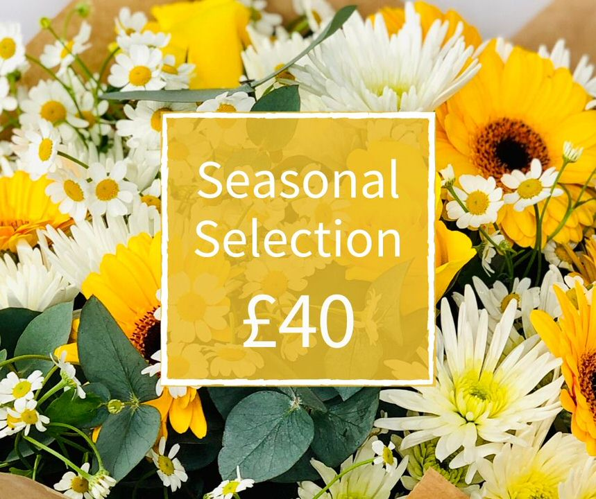 Florist Choice 40 - Seasonal Handtied Bouquet: Booker Flowers and Gifts