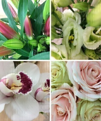 Flower Subscription - Deluxe Package: Booker Flowers and Gifts