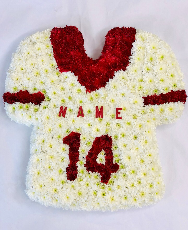Football Shirt Tribute: Booker Flowers and Gifts
