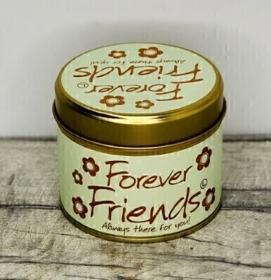 Forever Friends Scented Candle By Lily Flame: Booker Flowers and Gifts
