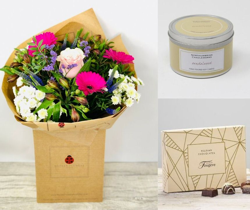 Good Luck Gift Set: Booker Flowers and Gifts