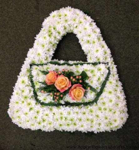 Ladies Handbag Funeral Tribute: Booker Flowers and Gifts