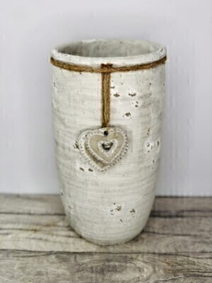 Large Stone Vase: Booker Flowers and Gifts