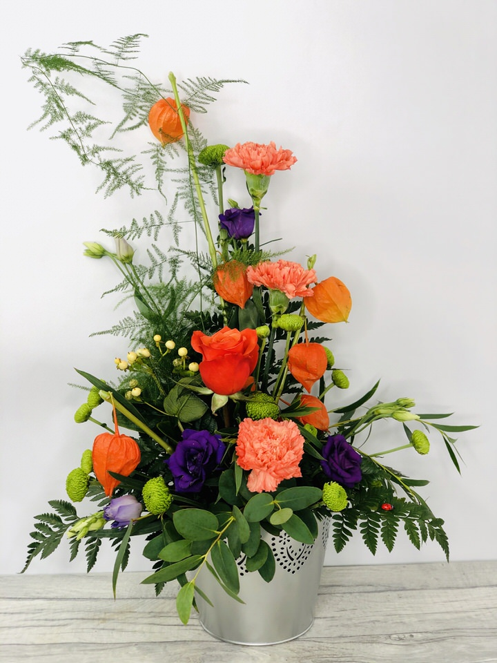 Majestic Fall Autumn Flower Arrangement: Booker Flowers and Gifts