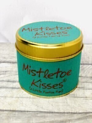 Mistletoe Kisses Lily Flame Candle: Booker Flowers and Gifts