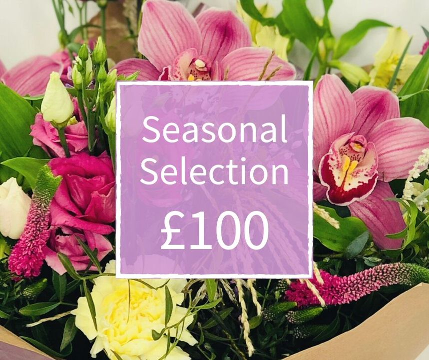 Mothers Day Florist Choice 100 - Seasonal Handtied: Booker Flowers and Gifts