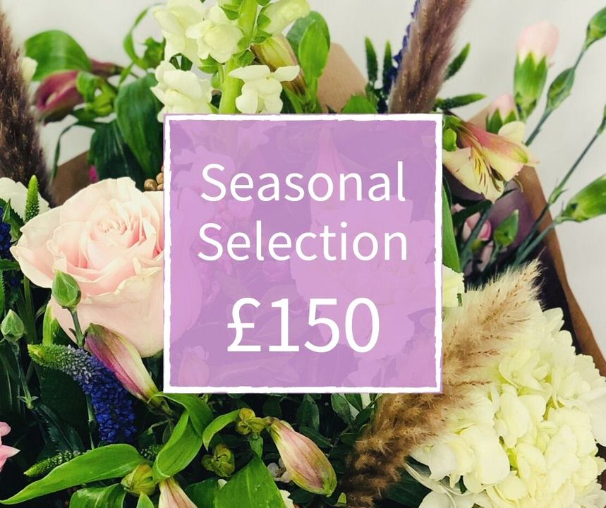 Mothers Day Florist Choice 150 - Seasonal Handtied: Booker Flowers and Gifts