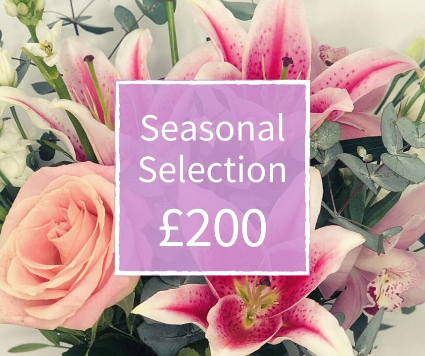 Mothers Day Florist Choice 200 - Seasonal Handtied: Booker Flowers and Gifts
