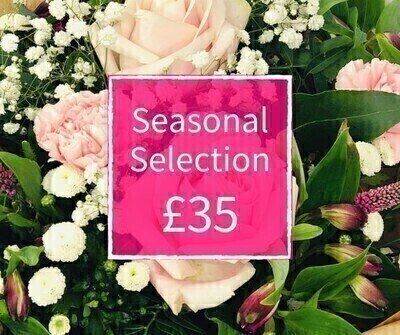 Mothers Day Florist Choice 35 - Seasonal Handtied: Booker Flowers and Gifts