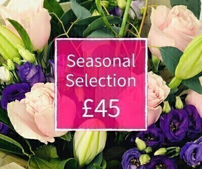 Mothers Day Florist Choice 45 - Seasonal Handtied: Booker Flowers and Gifts