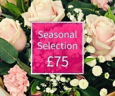 Mothers Day Florist Choice 75 - Seasonal Handtied: Booker Flowers and Gifts