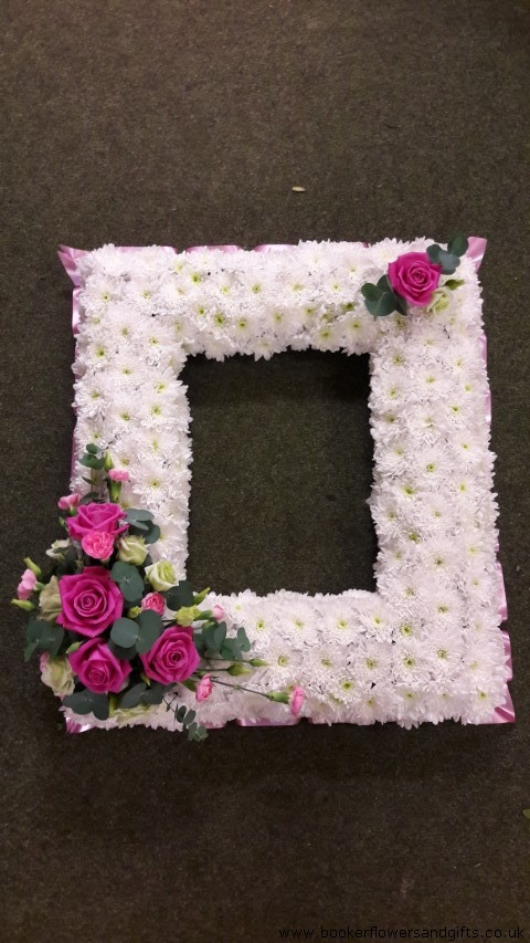 Photo Frame Tribute: Booker Flowers and Gifts