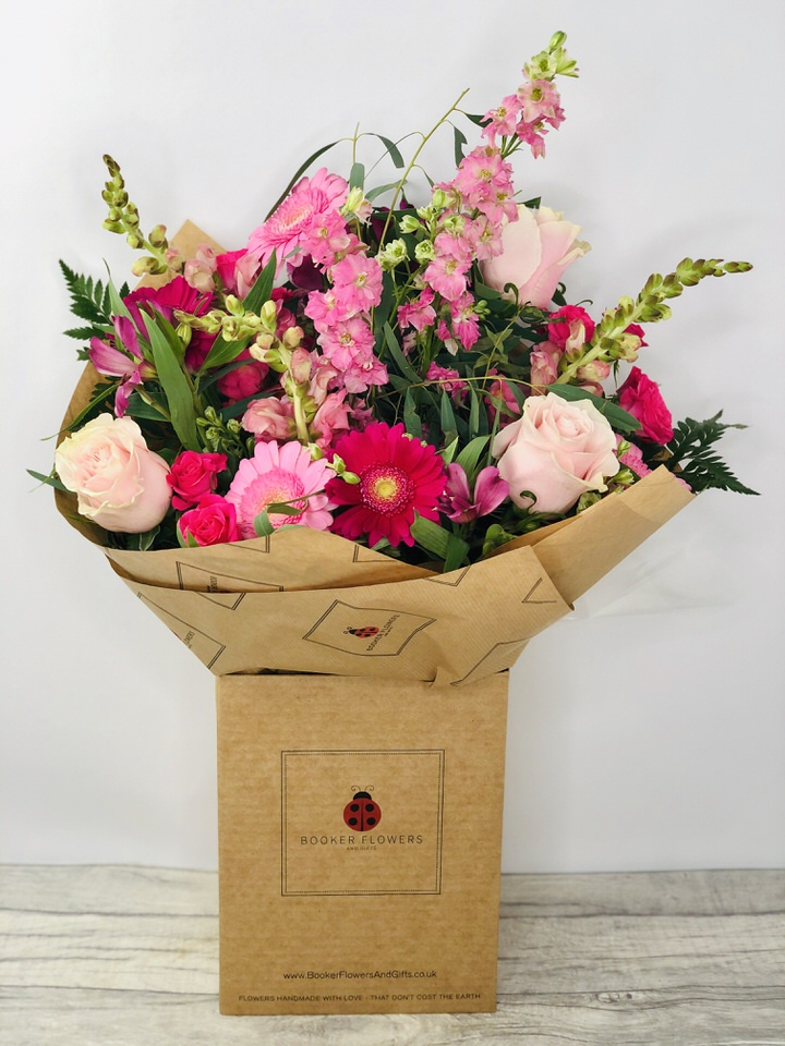 Precious Pink Large Bouquet: Booker Flowers and Gifts