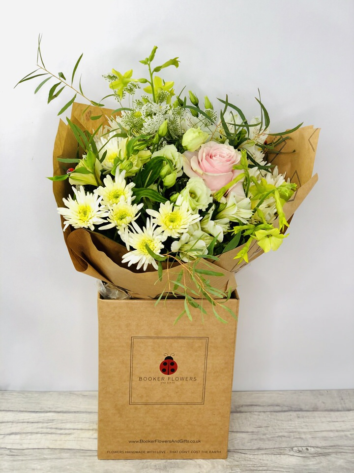 Pretty Pastel Bouquet of Flowers: Booker Flowers and Gifts
