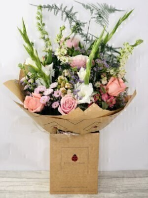 Tall and Elegant Pink and White Flowers: Booker Flowers and Gifts