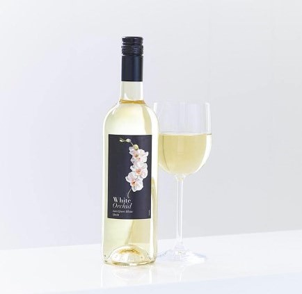White Orchid Sauvignon Blanc Wine: Booker Flowers and Gifts