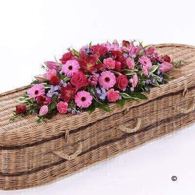 We have a large range Casket Spray Funeral Flower Tributes. We offer Flower Delivery Liverpool.  We can provide Casket Spray Funeral Flowers for you in Liverpool - Merseyside and can organize Funeral flower deliveries for you Nationwide. 