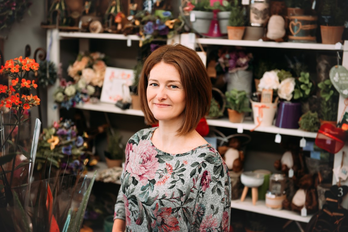 Nikki, Florist at Booker Flowers and Gifts